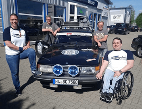 Ein letztes Interview vor der Rallye