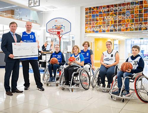 800 Euro für den Rollstuhl-Sportclub Hanse Lübeck